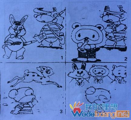 小猴学本领_一年级看图写话