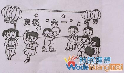 小学一年级看图写话