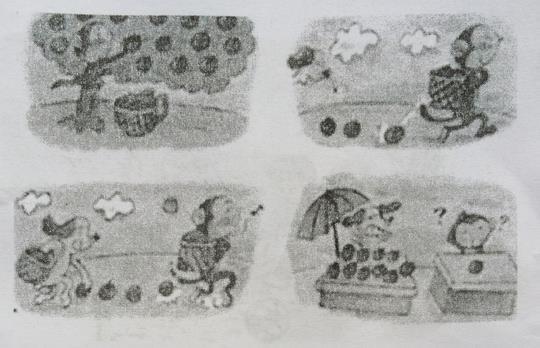 二年级看图写话