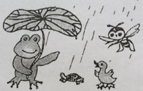 下雨了_小学二年级看图写话