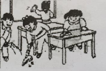 打扫教室 看图写话 小学二年级看图写话